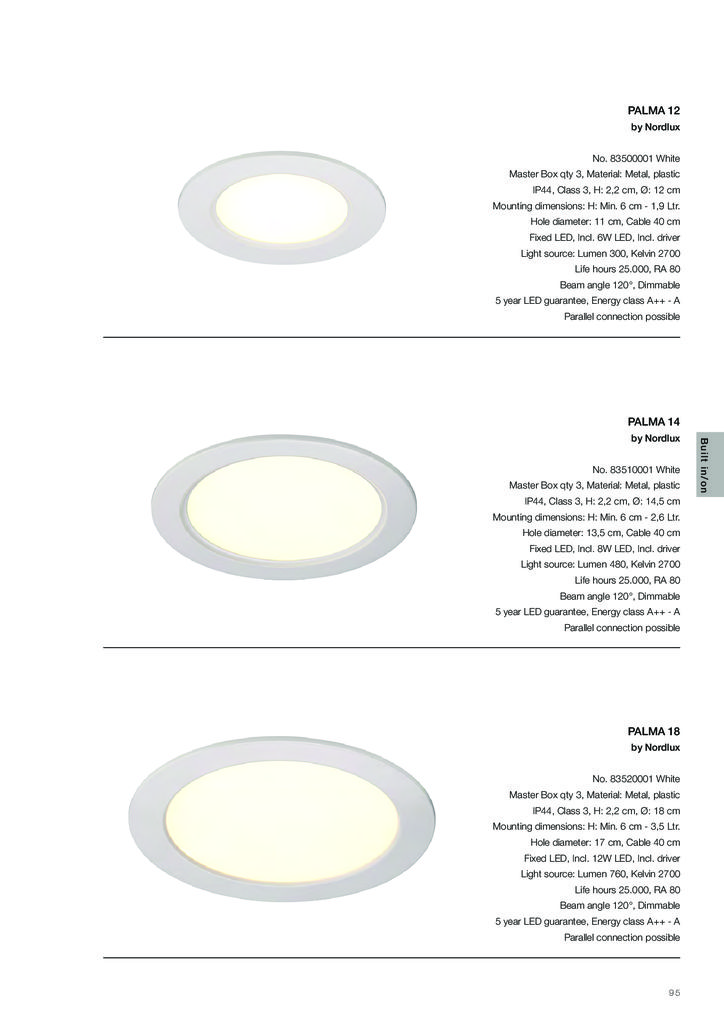 thumbnail of NORDLUX Ceiling Recessed